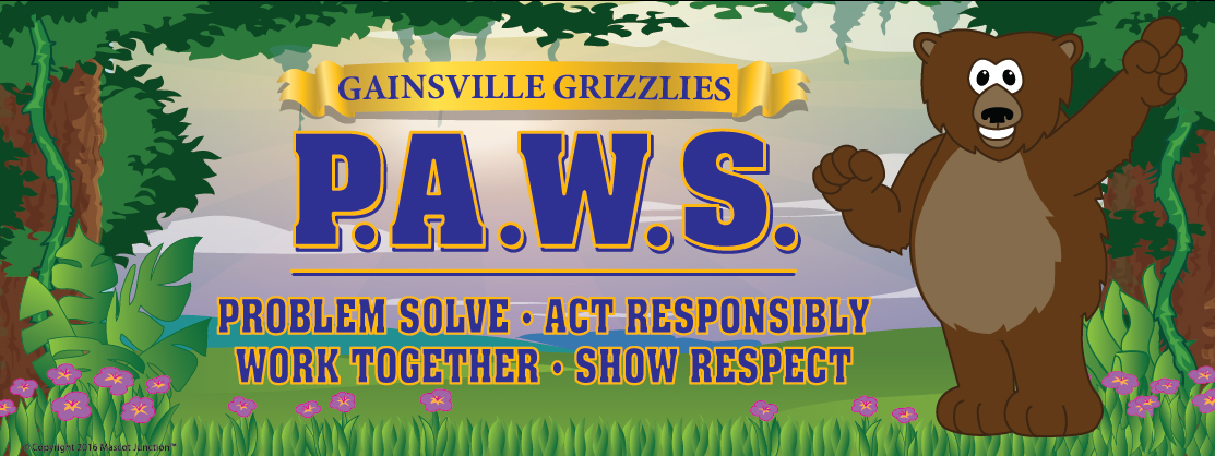 Grizzly PAWS Banner