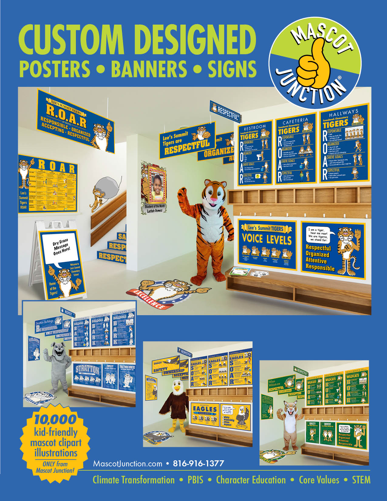 Mascot Junction Catalog 2019 PBIS Posters